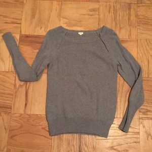 Grey J.Crew Sweater